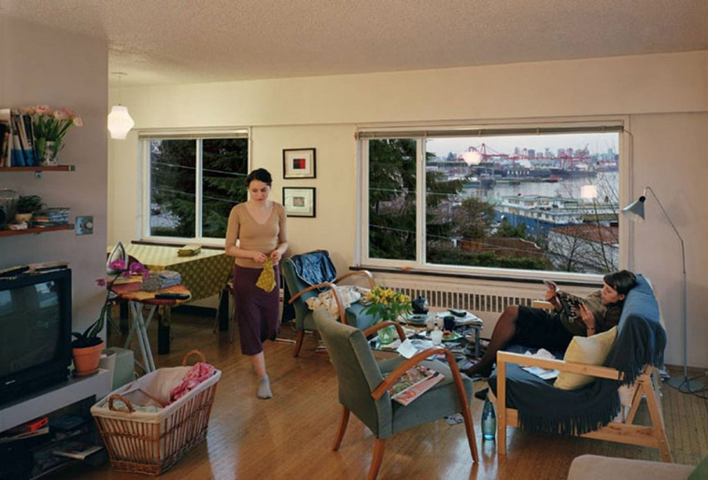 Jeff Wall. A View from an Apartment, 2004–5. Fonte: TATE