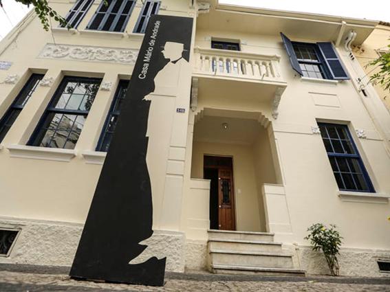 Casas de Artistas: Casa Mário de Andrade – imagem: MAM